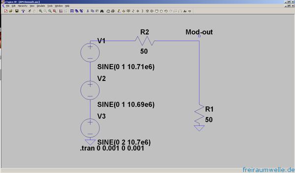 AM Modulator Schaltplan